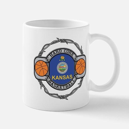 Kansas Basketball Mug