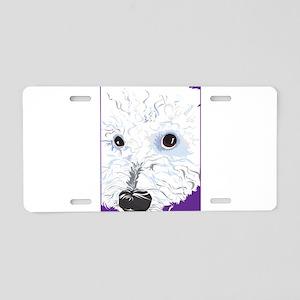 BichonFrise Aluminum License Plate