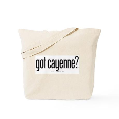 got cayenne? Tote Bag