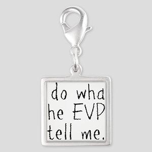 EVPs Silver Square Charm