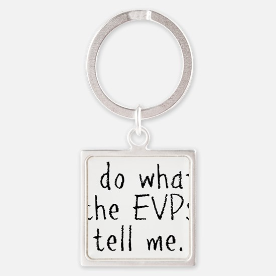 EVPs Square Keychain