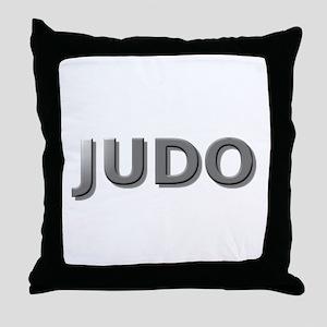 judo chrome3 Throw Pillow