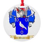 Bivan Round Ornament