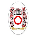 Bitto Sticker (Oval 50 pk)