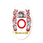 Bittini Oval Car Magnet