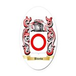 Bitetto Oval Car Magnet