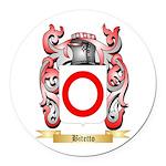 Bitetto Round Car Magnet