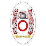 Bitetti Sticker (Oval 10 pk)