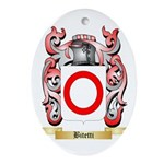 Bitetti Ornament (Oval)