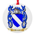 Bissott Round Ornament