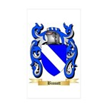 Bissott Sticker (Rectangle 50 pk)