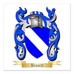 Bissett Square Car Magnet 3