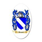 Bissett 20x12 Oval Wall Decal