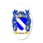 Bisset 35x21 Oval Wall Decal