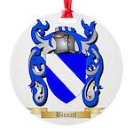 Bissatt Round Ornament