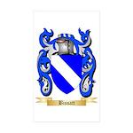 Bissatt Sticker (Rectangle 50 pk)