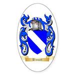 Bissatt Sticker (Oval 50 pk)