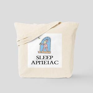SLEEP APNEIAC Tote Bag