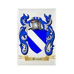 Bissat Rectangle Magnet (100 pack)