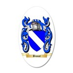 Bissat 20x12 Oval Wall Decal