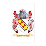 Biskupski Sticker (Rectangle 50 pk)