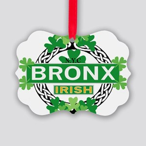 Bronx Irish Ornament