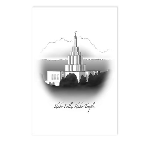Idaho Falls, Idaho Temple Postcards (Package of 8)