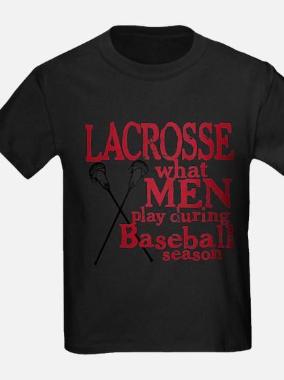 Men Play Lacrosse T-Shirt