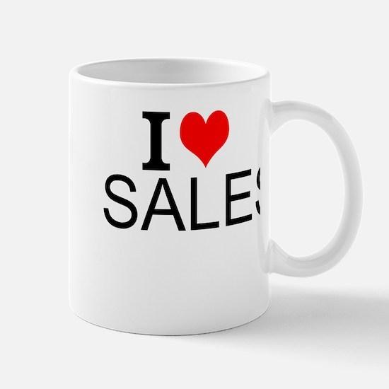I Love Sales Mugs