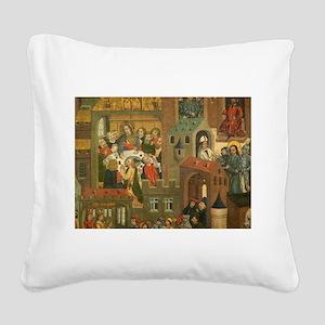 40 Square Canvas Pillow