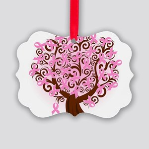 The Tree of Life...Breast Cancer Ornament