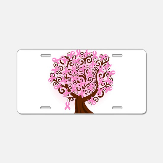 The Tree of Life...Breast Cancer Aluminum License