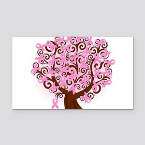 The Tree of Life...Breast Cancer Rectangle Car Mag