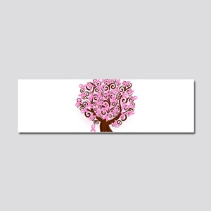 The Tree of Life...Breast Cancer Car Magnet 10 x 3