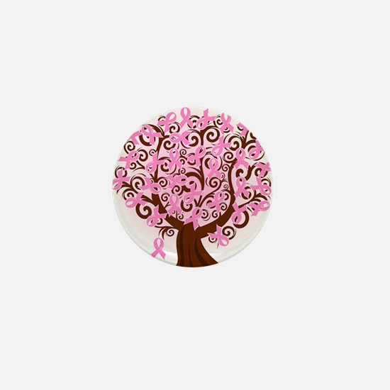 The Tree of Life...Breast Cancer Mini Button