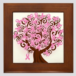 The Tree of Life...Breast Cancer Framed Tile