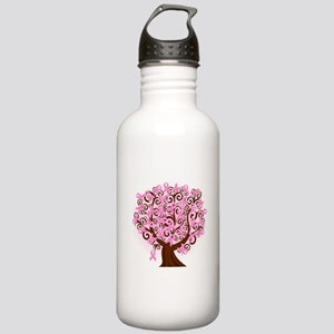 The Tree of Life...Breast Cancer Water Bottle