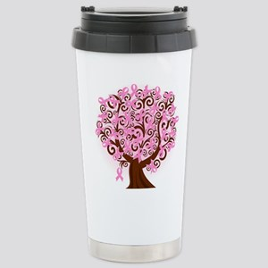 The Tree of Life...Breast Cancer Travel Mug