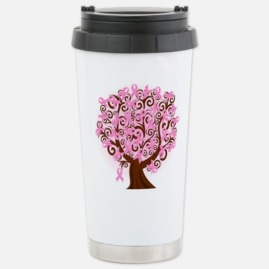 The Tree of Life...Breast Cancer Travel Mug