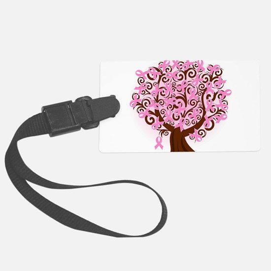 The Tree of Life...Breast Cancer Luggage Tag