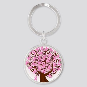 The Tree of Life...Breast Cancer Keychains