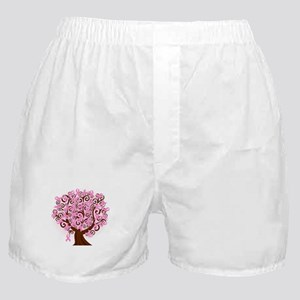 The Tree of Life...Breast Cancer Boxer Shorts