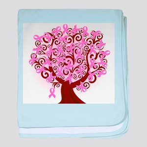 The Tree of Life...Breast Cancer baby blanket