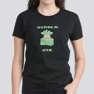 ARRIVING IN APRIL BABY LIGHT SKIN GREEN T-Shirt