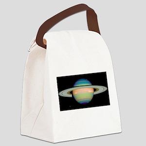 saturn Canvas Lunch Bag