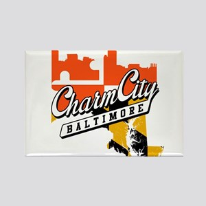 Charm City Rectangle Magnet