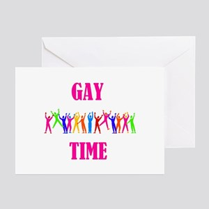 GAY TIME Greeting Cards (Pk of 10)