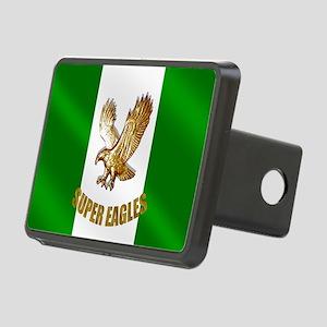 Nigerian Eagle Flag Rectangular Hitch Cover