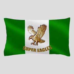 Nigerian Eagle Flag Pillow Case