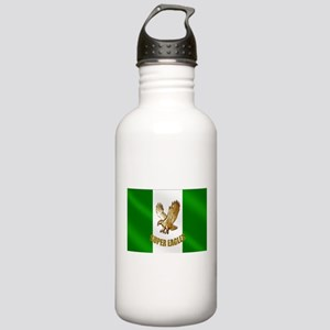 Nigerian Eagle Flag Stainless Water Bottle 1.0L
